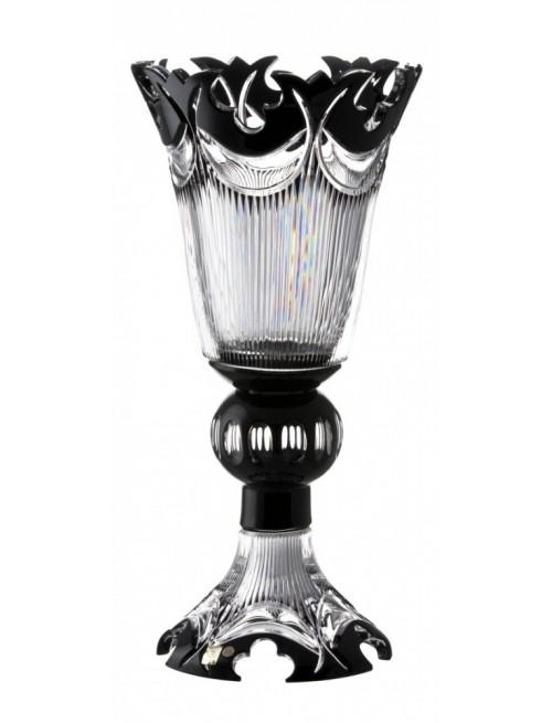 Wazon Diadem, kolor czarny, wysokość 505 mm