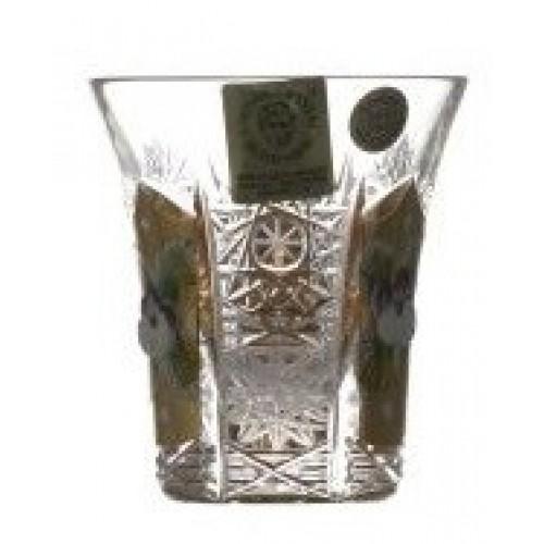 Likierówka 500K Złoto II, szkło kryształowe bezbarwne, objętość 45 ml