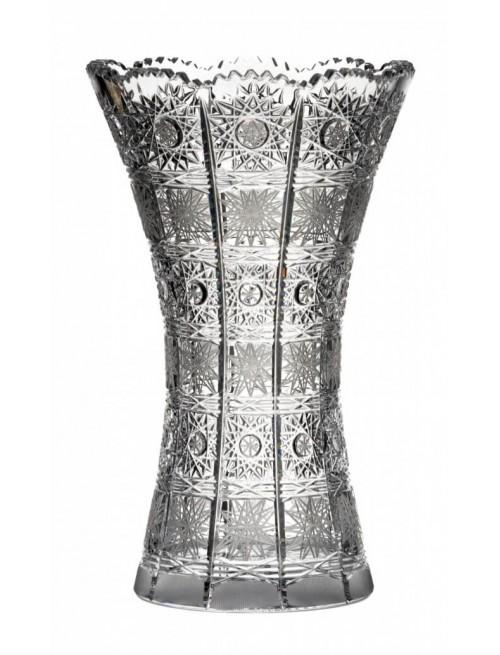 Wazon 500PK, szkło kryształowe bezbarwne, wysokość 230 mm