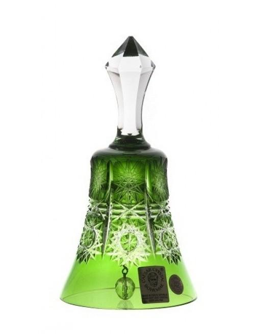 Dzwonek Paula, kolor zielony, wysokość 126 mm