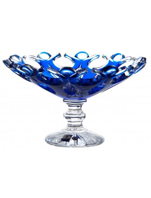 Patera Flamenco, kolor niebieski, średnica 230 mm