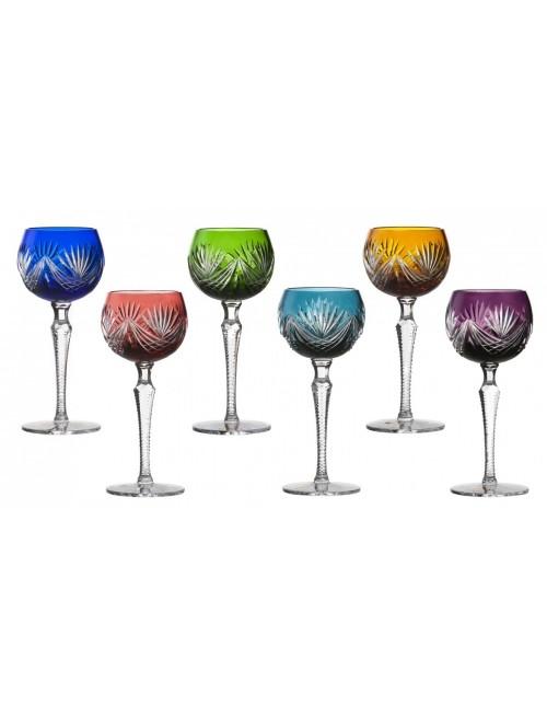 Zestaw kieliszków do wina Janette 190, różne kolory, objętość 190 ml