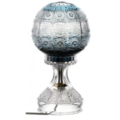 Lampa Paula, kolor turkusowy, wysokość 305 mm
