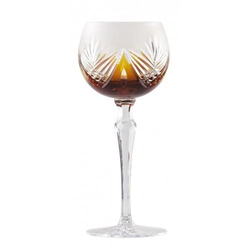 Kieliszek do wina Janette, kolor bursztynowy, objętość 190 ml