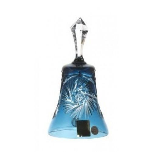 Dzwonek Wiatraczek, kolor turkusowy, wysokość 126 mm