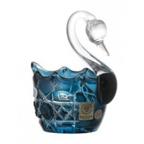Łabędź Octagon, kolor turkusowy, średnica 80 mm