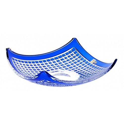 Półmisek Quadrus, kolor niebieski, średnica 350 mm