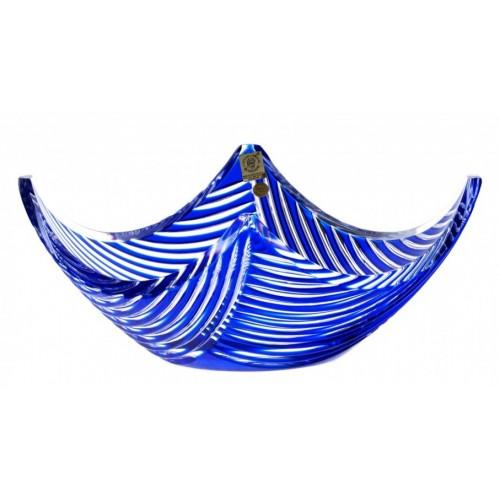 Półmisek Linum, kolor niebieski, średnica 280 mm