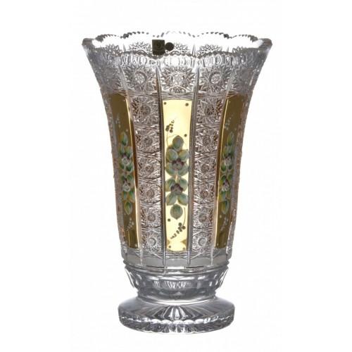 Wazon 500K Złoto I, szkło kryształowe bezbarwne, wysokość 305 mm