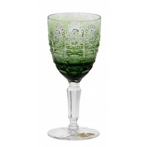 Kieliszek do wina Paula, kolor zielony, objętość 150 ml
