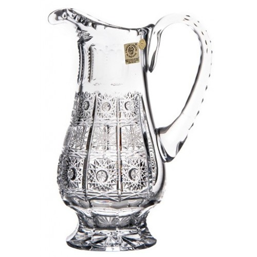 Dzbanek 500PK, szkło kryształowe bezbarwne, objętość 550 ml
