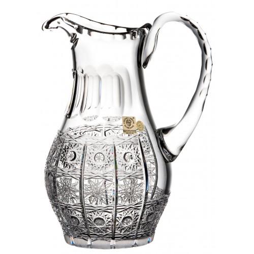 Dzbanek 500PK, szkło kryształowe bezbarwne, objętość 900 ml
