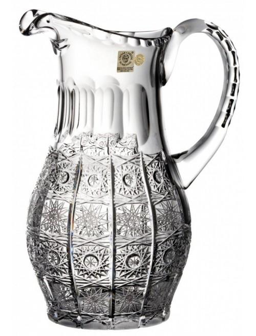 Dzbanek 500PK, szkło kryształowe bezbarwne, objętość 1300 ml