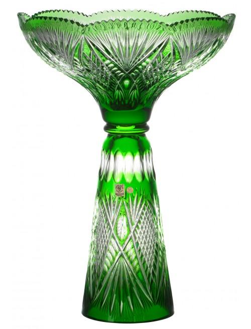 Wazon Gabriela, kolor zielony, wysokość 465 mm