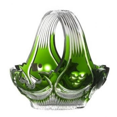 Kosz Diadem, kolor zielony, średnica 230 mm
