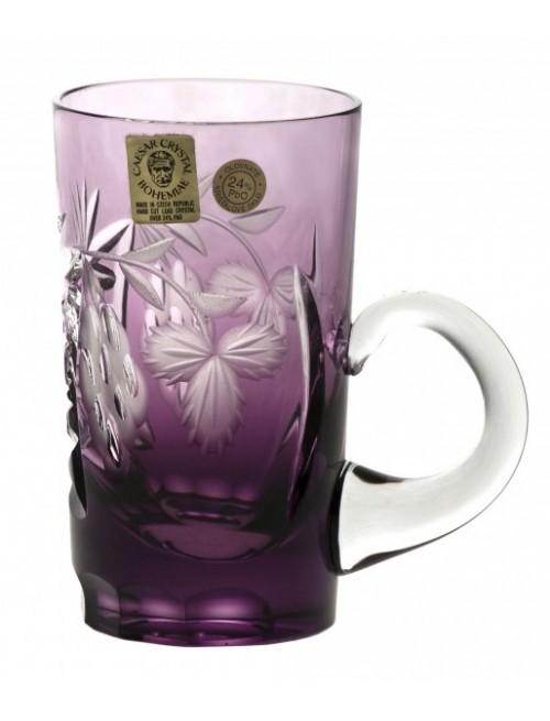 Kubek Winorośl, kolor fioletowy, objętość 100 ml