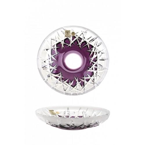 Talerz Szron, kolor fioletowy, średnica 180 mm