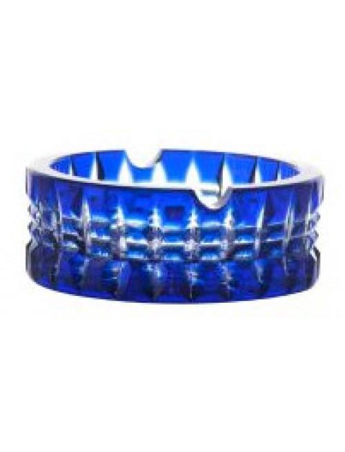 Popielniczka Brilant, kolor niebieski, średnica 90 mm