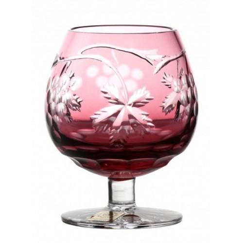 Kieliszek do brandy Winogrona, kolor rubinowy, objętość 230 ml