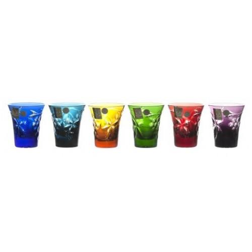 Zestaw likierówek Winogrona, różne kolory, objętość 75 ml