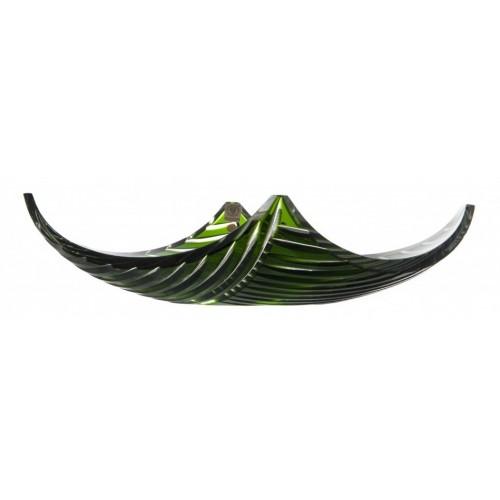 Półmisek Linum, kolor zielony, średnica 350 mm