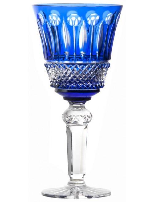 Kieliszek do wina Tomy, kolor niebieski, objętość 240 ml