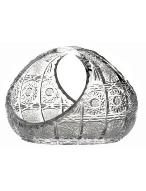 Kosz 500PK, szkło kryształowe bezbarwne, średnica 160 mm