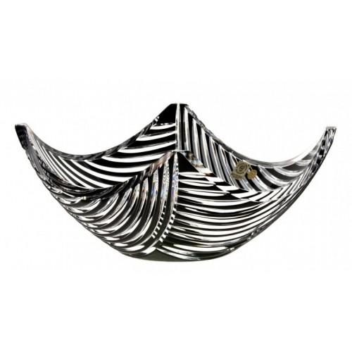 Półmisek Linum, kolor czarny, średnica 280 mm
