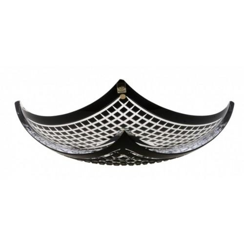 Półmisek Quadrus, kolor czarny, średnica 350 mm