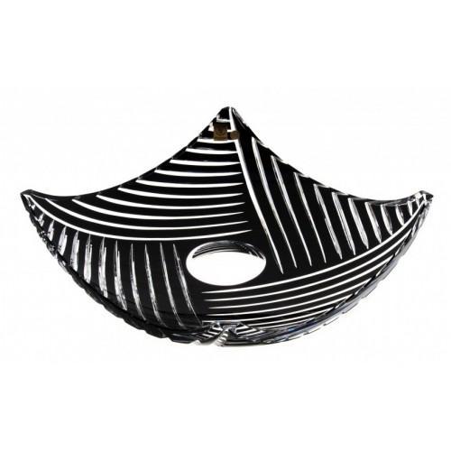 Półmisek Linum, kolor czarny, średnica 350 mm