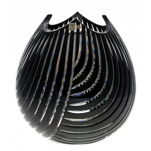 Wazon Linum, kolor czarny, wysokość 280 mm