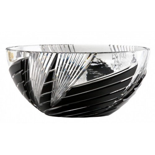 Półmisek  Wir, kolor czarny, średnica 250 mm