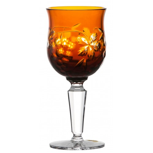 Kieliszek do wina Winogrona, kolor bursztynowy, objętość 140 ml
