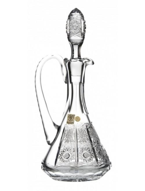 Karafka 500PK, szkło kryształowe bezbarwne, objętość 550 ml