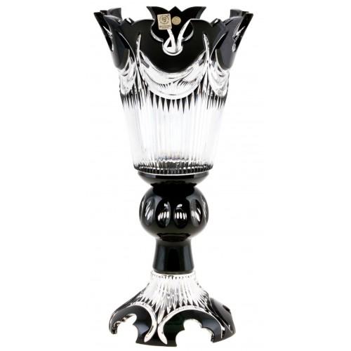 Wazon Diadem, kolor czarny, wysokość 355 mm