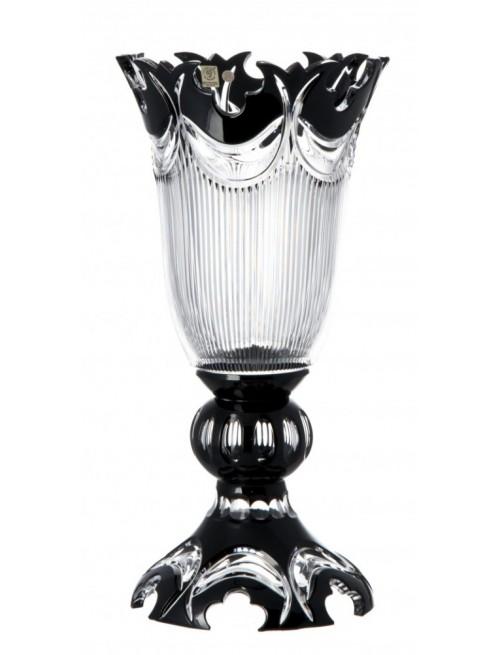 Wazon Diadem, kolor czarny, wysokość 430 mm