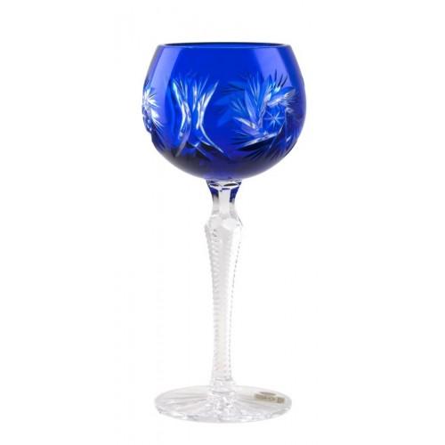 Kieliszek do wina Wiatraczek, kolor niebieski, objętość 190 ml