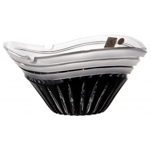Popielniczka Dune, kolor czarny, średnica 180 mm
