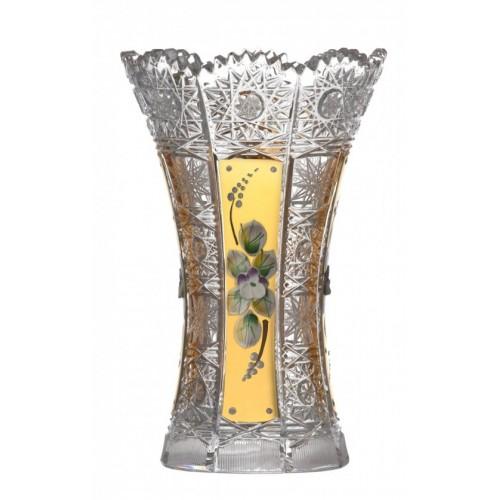 Wazon 500K Złoto I, szkło kryształowe bezbarwne, wysokość 180 mm