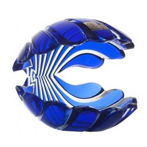 Muszla, kolor niebieski, wysokość 140 mm