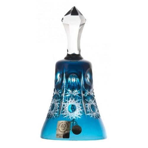 Dzwonek Petra, kolor turkusowy, wysokość 126 mm