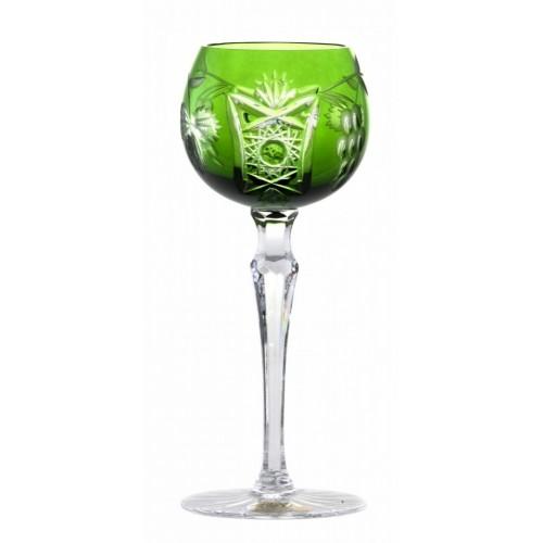 Kieliszek do wina Winorośl, kolor zielony, objętość 170 ml
