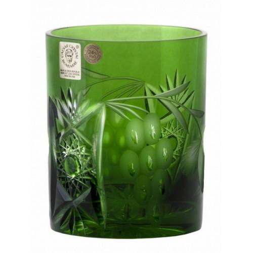 Szklanka Winorośl, kolor zielony, objętość 320 ml