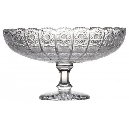 Patera 500PK, szkło kryształowe bezbarwne, średnica 305 mm