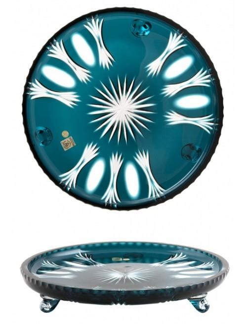 Talerz Dmuchawiec, kolor turkusowy, średnica 305 mm