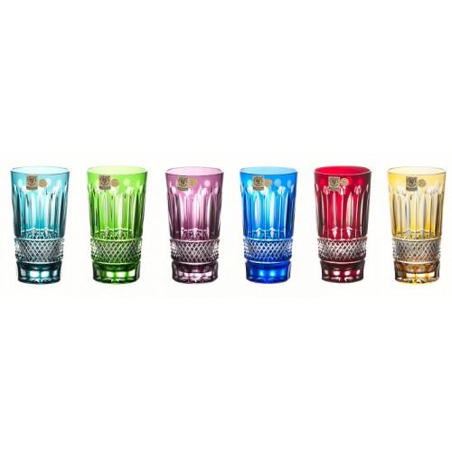 Zestaw szklanek Tomy, różne kolory, objętość 320 ml