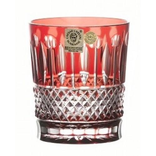 Szklanka Tomy, kolor rubinowy, objętość 290 ml