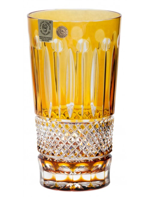 Szklanka Tomy, kolor bursztynowy, objętość 320 ml