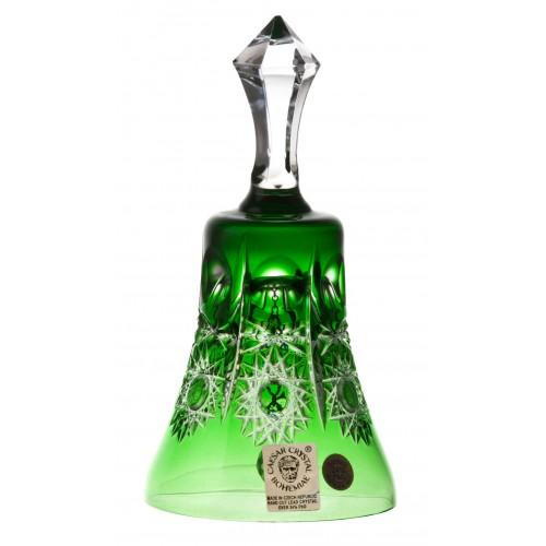 Dzwonek Petra, kolor zielony, wysokość 126 mm