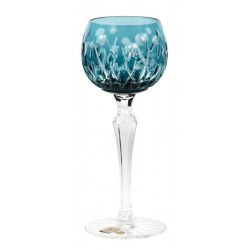 Kieliszek do wina Heyday, kolor turkusowy, objętość 170 ml